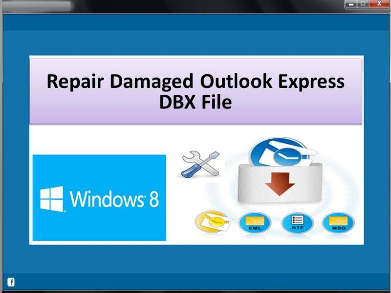Utility repairs damaged dbx files on Windows